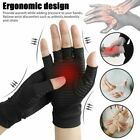 Pair Arthritis Gloves Sports Health Half Finger Recovery Therapeutic Compression $9.2 USD on eBay