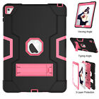 For Apple iPad Pro 9.7 Hybrid Shockproof Heavy Duty Hard Kickstand Case Cover US