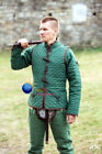 Medieval Gambeson vest With under armor Aketon padded Costumes dress shirt gear