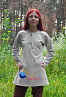 Medieval under armor Aketon sca padded Costumes PLANE Gambeson shirt dress