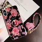 Phone X Case, Phone Xs Case for Girl Women, Bling Glitter Soft TPU Bumper Beauty