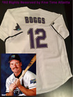 NEW Wade Boggs Tampa Bay Devil Rays Mens 1998 2000 Style Home Retro Jersey