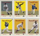 2005 Fleer Tradition Standouts Insert You Pick the Card Finish Your Set on Ebay