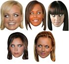 Ladies Spice Girls Posh Scary Sporty Ginger Baby Fancy Dress Costume Masks