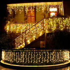 Kyпить 13-130FT LED Fairy Icicle Curtain Lights Party Indoor Outdoor Xmas Decoration на еВаy.соm