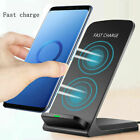 Wireless Charging Dock Stand Holder QI 10W Fast Charger For Apple&Samsung