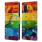 OFFICIAL ARTPOPTART FLAGS LEATHER BOOK WALLET CASE FOR SAMSUNG PHONES 1
