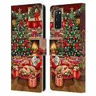 THE MACNEIL STUDIO CHRISTMAS TREE LEATHER BOOK CASE FOR SAMSUNG PHONES 1