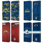 OFFICIAL NFL 2018/19 LOS ANGELES CHARGERS LEATHER BOOK CASE FOR SAMSUNG PHONES 2 $14.95 USD on eBay