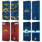 OFFICIAL NFL 2018/19 LOS ANGELES CHARGERS LEATHER BOOK CASE FOR SONY PHONES 1 $14.95 USD on eBay