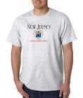USA Made Bayside T shirt USA State Seal New Jersey Home Sweet