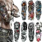Kyпить Men Full Arm Tattoo Temporary Tattoos Sticker Fake Tatoo Body Art Waterproof 3D на еВаy.соm