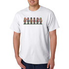 Gildan Cotton T-shirt Christmas Teddy Bear Toy Soldiers Ugly Sweater