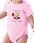 Infant Creeper Bodysuit T-shirt Future Cheerleader Cheer Leader Sports