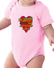 Infant creeper bodysuit One Piece t-shirt My Grandpa Loves Me Just The Way I Am