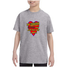 Youth Kids T-shirt My Grandpa Loves Me Just The Way I Am