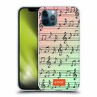 OFFICIAL emoji® MUSIC PATTERNS GEL CASE FOR APPLE iPHONE PHONES