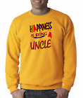 SWEATSHIRT Family Happiness Is Being A Uncle