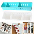 Kitchen Drawer Organizer Cutlery Flatware Utensil Silverware Spoon Cut Storage