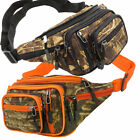 Tree Camo Waist Bag Fanny Pack 8 Pocket Water Resistant Hunting Camping