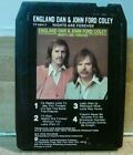 """England Dan & John Ford Coley """"Nights Are Forever"""" 8 track tape REBUILT"""