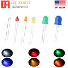 18mm 2mm 3mm 5mm 8mm 10mm LED Diodes Diffused White Red Blue Lights Lamp Blub