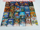 Pick Lot of 6 Disney DVDs:Aladdin,Snow White,Sleeping Beauty,Lion King, UP.....