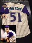 NEW Randy Johnson Arizona Diamondbacks Men's Cream Alternate Retro Jersey on Ebay
