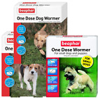 Beaphar One Dose Wormer Tablet Worming for Small, Medium, Large dogs