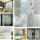Waterproof Frosted Privacy Window Lot Glass Cover Film Home Sticker Protect USA