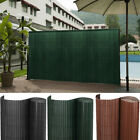Faux Bamboo Garden Fence Screen Roll Border Panel Swimming Pool Wind/Sun Protect