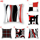 USA Modern Geometric Pillow Cushion Case Home Decoration Polyester Cushion Cover image