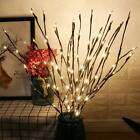 20led Natural Willow Twig Lighted Branch For Home Xmas Decor Battery Powered Au