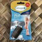 Amope Pedi Perfect iamond Crystals Extra Coarse Soft Touch REFILL 2 Pk. NEW