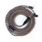 16 Core Silver Plated Copper Cable 2.5/4.4mm Balance QDC MMCX Wire Upgrade Cord