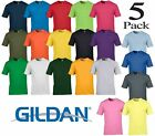 Pack of 3 and 5 Gildan Men's Soft-Style Christmas funny gifts Mens T-Shirt