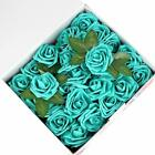 Artificial Flowers 100pcs Real Touch Artificial Foam Roses Decoration DIY