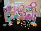 ittlest Pet Shop❀ Tail Waggin Fitness Center Gym Playset House❀ Lot  More
