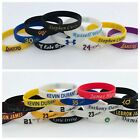 KIDS SIZE NBA PLAYERS SILICONE BRACELET