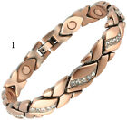MAGNETIC BRACELET FOR ARTHRITIS PRETTY BANGLE 3000 GAUSS STONG MAGNET THERAPY