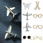 Hot Fashion Solid Color Piercing Brooch Pins Collar Pin Breastpin Women Jewelry