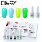Elite99 Smalto Semipermanente per Unghie in Gel UV LED 6pcs Kit Base Top Coat