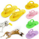 Pet Teething Braided Slipper Rope Toys Dog Cat Puppy Chewing Molar Teether Gums