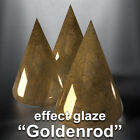 "#US ""GOLDENROD"" Effect Ceramic Glazes Earthenware Clay Painting Pottery House image"