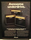 1999 Marchall JCM2000 combo guitar amplifiers print Ad