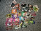 Lot of 28 McDONALDS HAPPY MEAL Toys SEALED M.Alexander, Ty Beenies, Barbie More