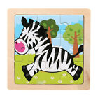 Creative Wooden Animal Puzzle Educational Developmental Baby Kids Training Toy
