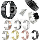 For Apple Watch Series 3/2/1 Stainless Steel Wrist iWatch Band Strap 38/42mm image
