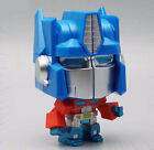 Transformers Optimus Prime Convoy Q Mini Big Head Cube Action Figure Cubic Toy