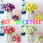 Us 21 Heads Rose Buds Artificial Flower Artificial Plant Home Flower Decoration